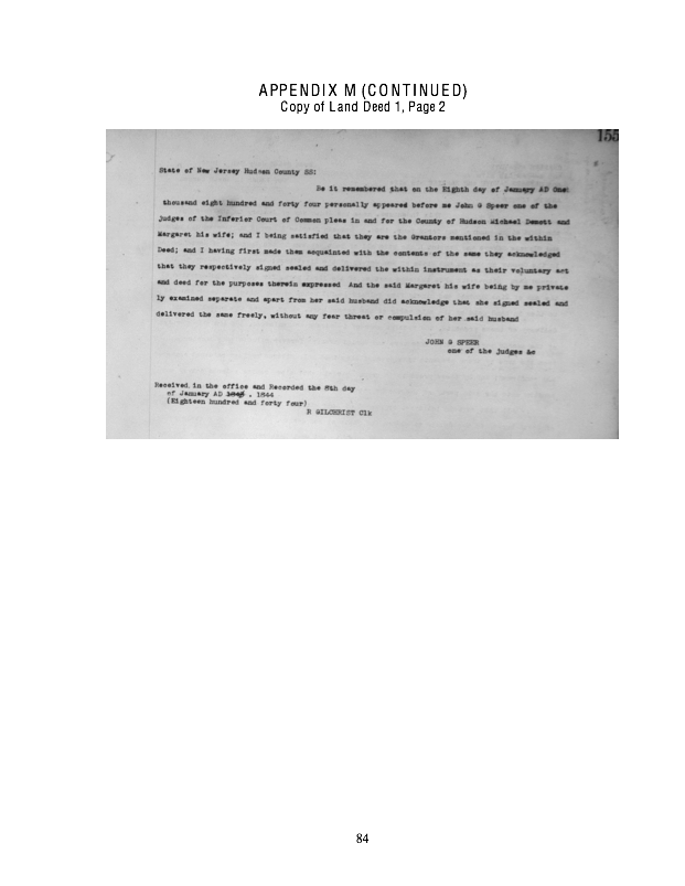 havens part 3 appendix f manasquan nj  by trafford  mack  u0026 leslie  1962  an excerpt providing an
