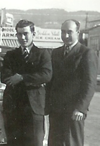 Elder Wiley Nebeker and Elder Vern Nebeker